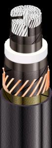 АПвЭгПу - с продольной герметизацией экрана и усиленной наружной оболочкой из полиэтилена