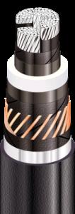 АПвЭгаПу - с продольной и поперечной герметизацией экрана и усиленной наружной оболочкой из полиэтилена