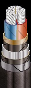 АСБ2л Кабели силовые с алюминиевыми токопро