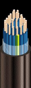 КГВВ - Кабели гибкие, с медными ТПЖ, с изоляцией из ПВХ пластиката, с наружной оболочкой из ПВХ пластиката