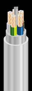 NHXMH-J - Кабели силовые с медными ТПЖ, с изоляцией из сшитого полиэтилена, с наружной оболочкой из безгалогенной полимерной композиции